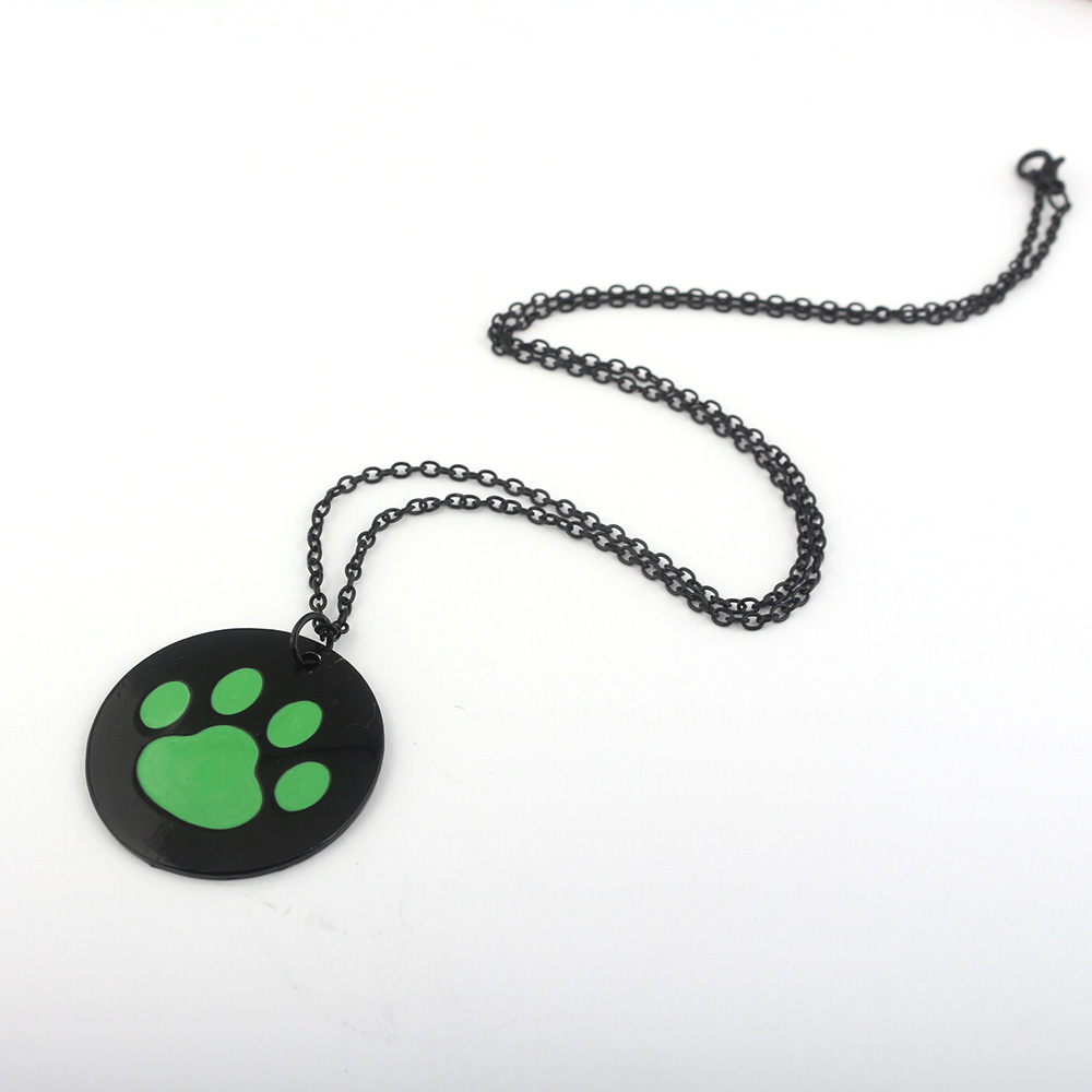 Fashion jewelry Miraculous Ladybug Jewelry Black Cat Necklece Pendant