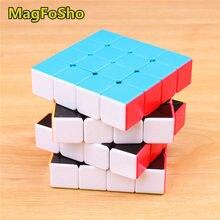 4X4X4 Magfosho Magische Kubus Sticker Minder Snelheid Kubus Professionele Shengshou 4 Layer Cube Puzzels Voor Volwassenen antistress Speelgoed