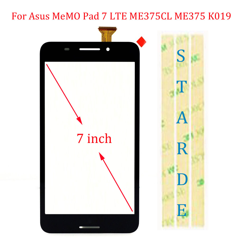 Replacement Touch Screen Digitizer Glass  For ASUS ME375 K019 FE375CG FE7530CXG