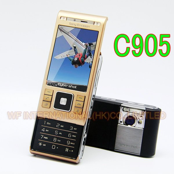 C905 Refurbished Original Sony Ericsson C905 Mobile Phone 8MP WIFI Bluetooth 3G GSM Unlocked Cellphone