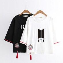 BTS Summer Embroidery T-Shirt