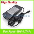 19 В PA-1900-32 4.74A 90 Вт ноутбук зарядное устройство ac адаптер питания для Acer Aspire 1695 1696 2000 2001 2002 2003 2010 2012 2013 2014 2016