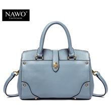 NAWO New Designer Crossbody Bags For Women Split Leather Shoulder Bags Trapaze Luxury Women Handbag Classic