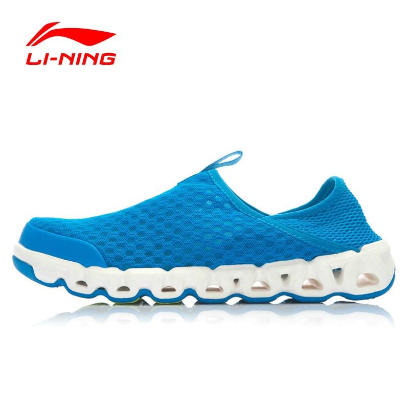 لى نينغ في الهواء الطلق أكوا أحذية الرجال شبكة تنفس توسيد لى نينغ قوس علم التكنولوجيا حذاء رياضة أحذية بطانة AHLJ007 XYD105