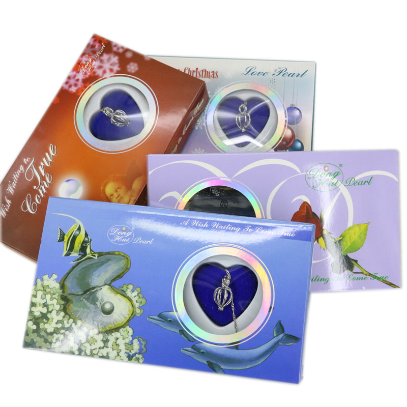 Oyster Tropfen Anhänger Perle Box Natürlichen Wunsch Perle Liebe ...