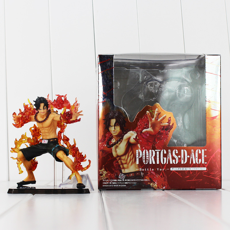 2018 Anime One Piece 14cm Portgas D Ace Action Figure Model pvc Collection Toy with box  ...