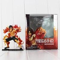 2018 Anime de One Piece Portgas D Ace Figura de Acción de 14 cm pvc Modelo Colección de Juguete con la caja envío gratis