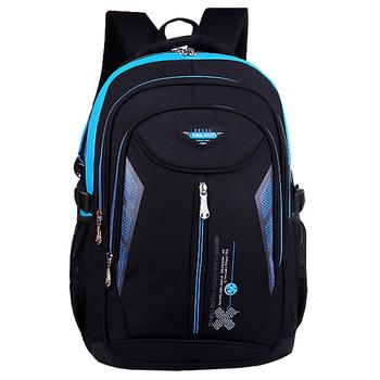 Wodoodporne torby szkolne dla dzieci dla chłopców dziewczyny duża pojemność torby szkolne plecaki do szkoły podstawowej Mochila Infantil hurtownie tanie i dobre opinie ZIRANYU NYLON zipper AGS009 GEOMETRIC Unisex 30cm Backpack 0 72kg 14cm Polyester 46cm 46*30*14cm