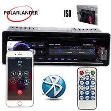 MP3/WMA/WAV плеер несколько эквалайзеров микрофон FM/SD/USB/AUX стерео радио напольная цена ID3 Play 1 DIN 12V Bluetooth