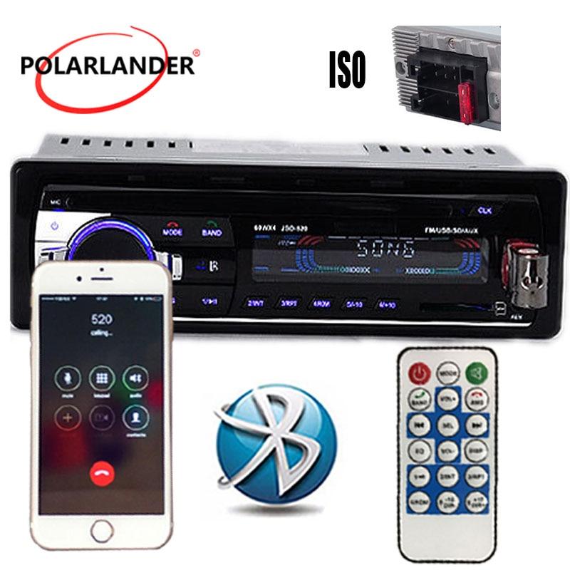 MP3/WMA/WAV player Múltipla EQ microfone FM/SD/USB/AUX Rádio Estéreo Do Carro andar preço ID3 Jogar 1 DIN 12V Bluetooth