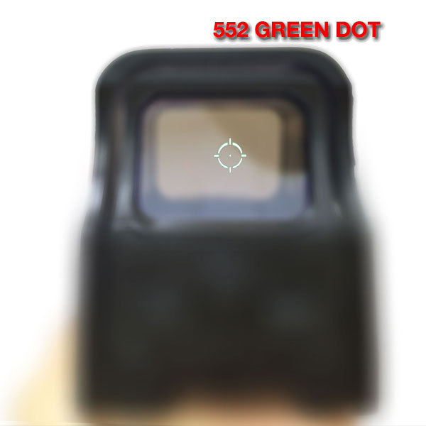 Haute Qualité Holographique sites Red Dot Portée Reflex Collimateur Vue AA Batteries Pour Airsoft 5-0002