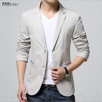 2018 fashion new men's casual boutique business dress suit / Men's two button suit blazers jacket Laipelar