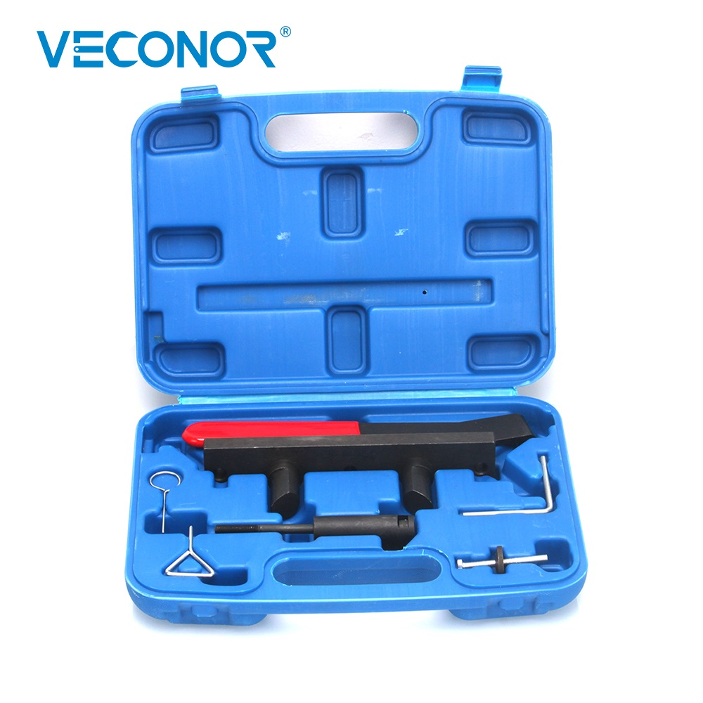 Engine Camshaft Alignment Timing Tool Kit Set Chain Tensioner Fixing for AUDI VW 2.0L FSi TFSi Locking Pins & Tightening Bolts utool engine camshaft crankshaft locking alignment timing tool kit for audi a2 a3 a4 a6 a8 2 4 3 2l v6 fsi t40070 t40069 t10172
