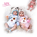 Кукла реборн 48 см, мягкая силиконовая реалистичная кукла-близнец для маленьких девочек и мальчиков, водонепроницаемая игрушка для ванны