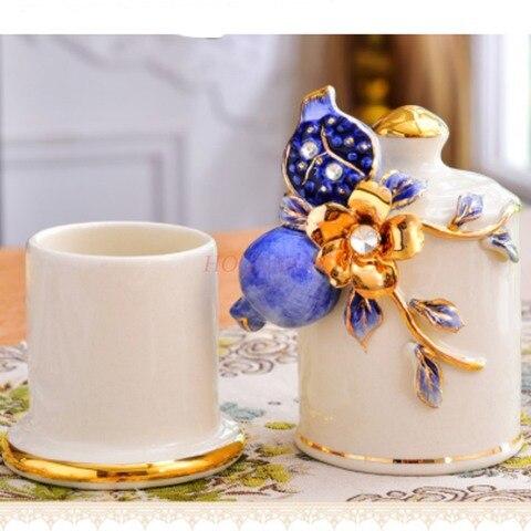 palito de dente ceramica palito mesa sala estar latas palito algodao do agregado familiar cotonetes