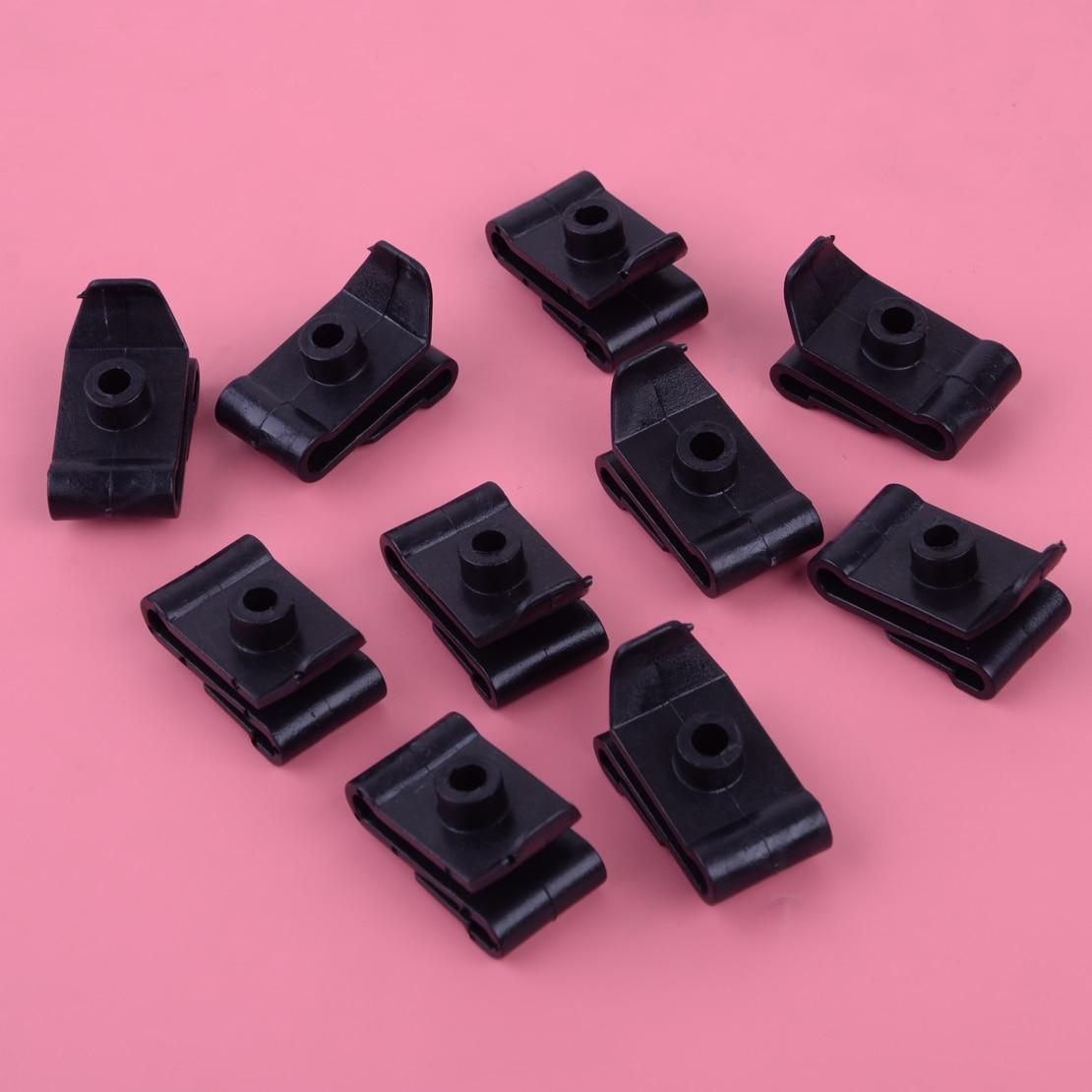 Black Car Front Fender /& Bumper Cover Clips Kit For Toyota Camry Corolla Lexus Z