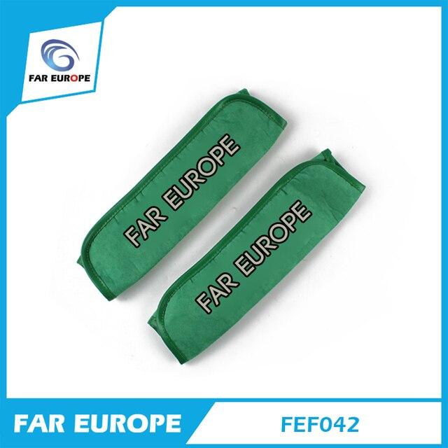Авто Подушка Безопасности Автомобиля Ремень Защита Плеча Pad настроить Сиденье Транспортного Средства Зеленый И Черный Цвета Ремень Подушка FEF042
