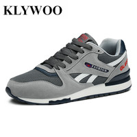 KLYWOO Brand Luxury Mens Shoes Casual Mesh Driving Shoes for Men Shoes Leather Spring Fashion Men Causal Shoes Zapatos Hombre