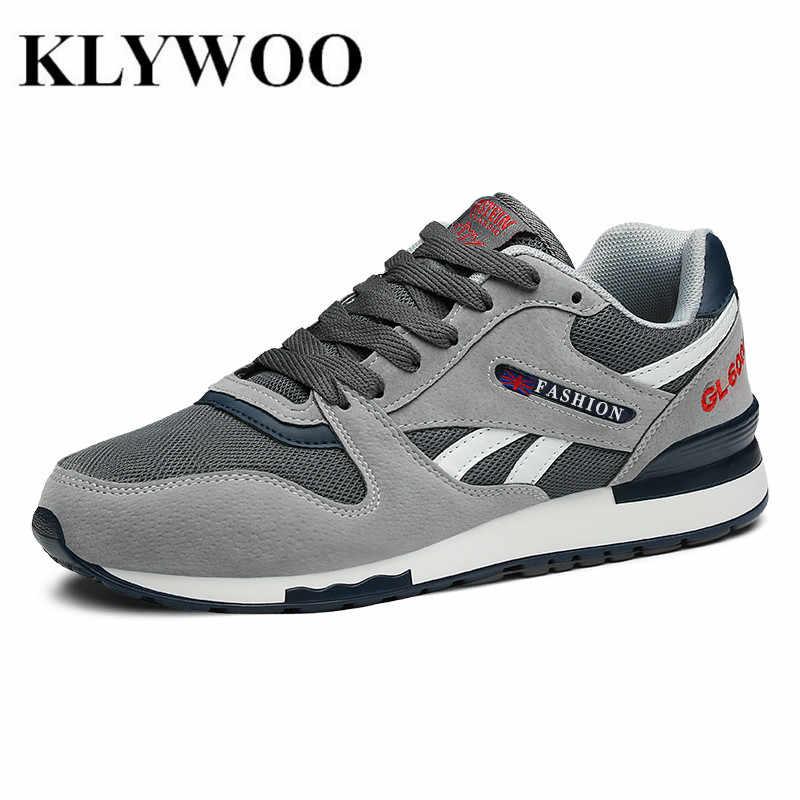ec3c873339913 KLYWOO/брендовая роскошная мужская обувь; повседневная обувь для вождения  из сетчатого материала; кожаная