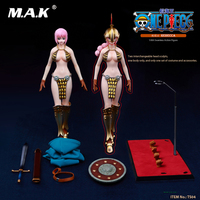 For Collection 1/6 Janpan Anime Figure One Piece Full Set Gladiator Rebecca Seamless Model with Double Heads Fans Holiday Gifts