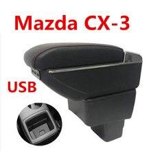 Для Mazda CX-3 CX 3 CX3 подлокотник коробка центральный магазин коробка содержание обладатель Кубка пепельница подкладке автомобиль-Стайлинг Аксессуары 14-19
