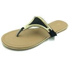 """Tamaño grande 8-11 zapatos mujer sandalias 2017 Zapatos Zapatillas de Moda de Verano Las Mujeres """"s Chanclas de Alta calidad Planos ocasionales"""