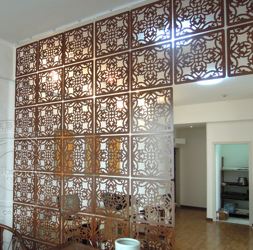 Genial Fashion Hanging Screen Wood Partition Bedroom Wall Post Entry Living Room  Home Decoration Free Shipping 9