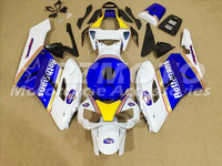 ACE KITS New ABS Injection Fairings Kit Fit For HONDA CBR1000RR 2004 2005 CBR1000RR 04 05 White Blue F80