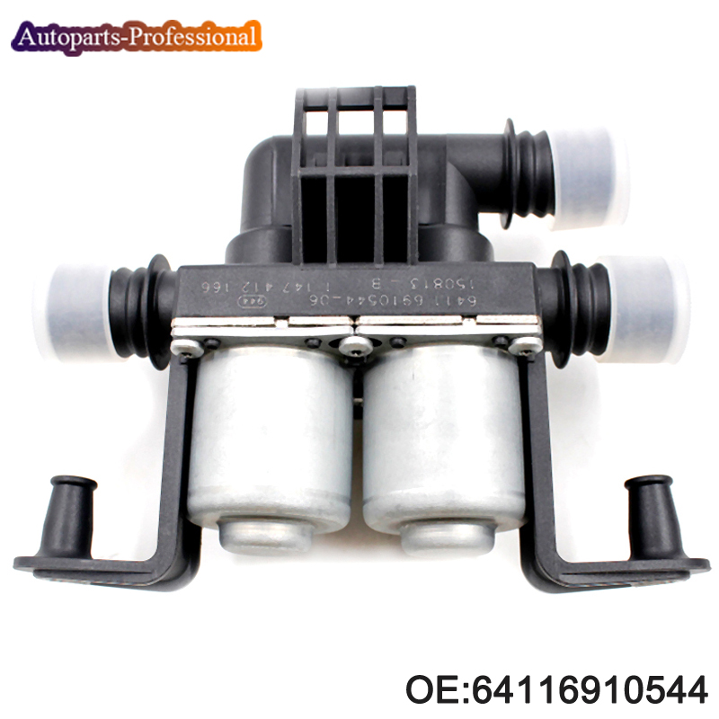 New Heater Control Valve 64116910544 1147412166 For BMW X5 E53 E70 F15 X6 E71 F16 4.4i 4.8i 35iX 40iX car accessories-in Valves & Parts from Automobiles & Motorcycles    1