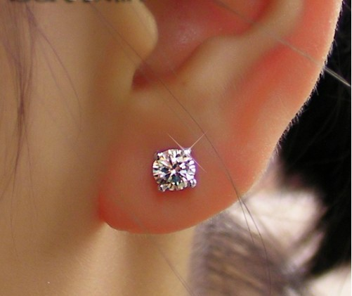 stud out fit diamond beautiful with earring carat the earrings