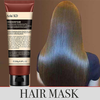 Nutrition protein Hair Mask smoothing For Frizz Dry Damaged Hair Repair Soft Conditioner Hair Treatment 250ML