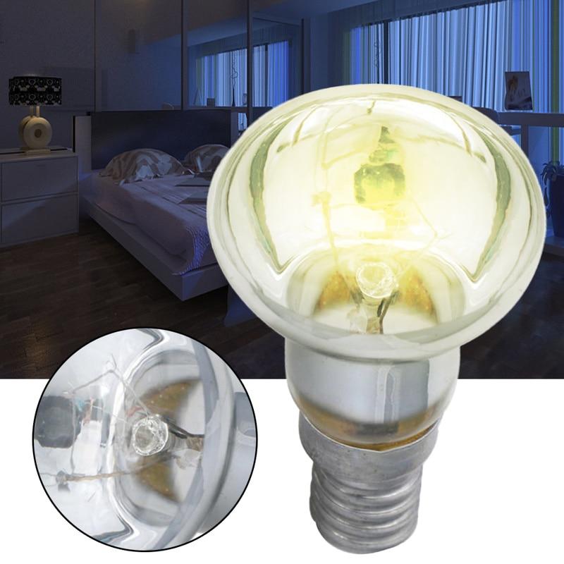 Edison Bulb 30W E14 Light Holder R39 Reflector Spot Light Bulb Lava Lamp Incandescent Filament Vintage Lamp Home Supplies