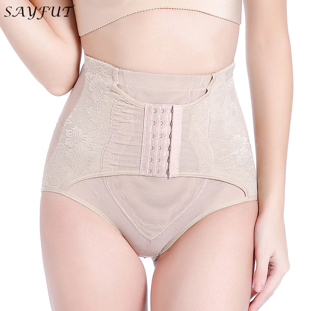 a585903e96 SAYFUT Body Shaper High Waist Tummy Control Butt Lifter Panty Slimming  Comfortable Hip Enhancer Girdle for Women Shapewear