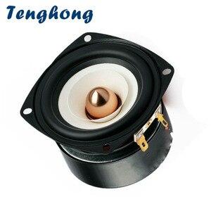Image 1 - Tenghong 1pcs 3 אינץ אודיו רמקול 4Ohm 8Ohm 15W מלא טווח רמקולים Hifi Mediant בס רמקול עבור בית תיאטרון DIY