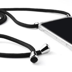Transparent Handy Fall mit Gurt Crossbody Halskette Schnur Lanyards mit Seil für Samsung Galaxy A6S A6/A8 Plus 2018
