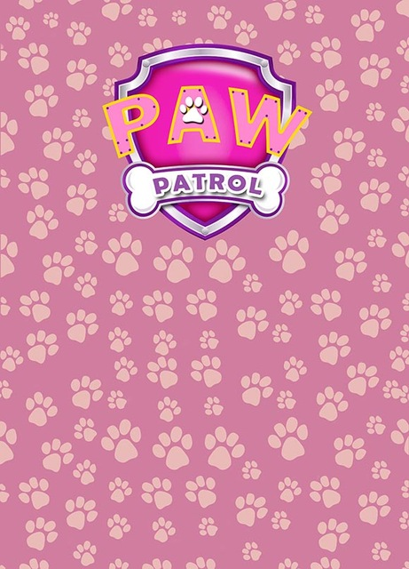 Pink Paw Patrol Photo Background Photography Backdrops Quality