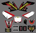 0064New Style TEAM GRAPHICS&BACKGROUNDS DECALS STICKERS Kits for  CRF50 CRF50F 2004 2005 2006 2007 2008 2009 2010 2011 2012