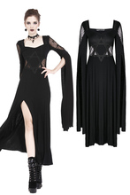 gothique robe élégantes noire