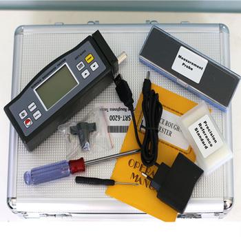 Przyrząd do pomiaru chropowatości powierzchni SRT-6200 cyfrowy przenośny miernik chropowatości Ra (0 05 ~ 10 00 um) Rz (0 020 ~ 100 0) tanie i dobre opinie EARKERTOOL 4 digits 10 mm LCD with blue backlight Ra Rz less than 10 Not more than 6 Built-in rechargeable Li-ion battery