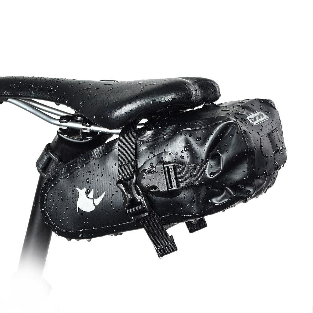 Rhinowalk Full Waterproof Bike Tail Package Saddle Bag Road Mountain