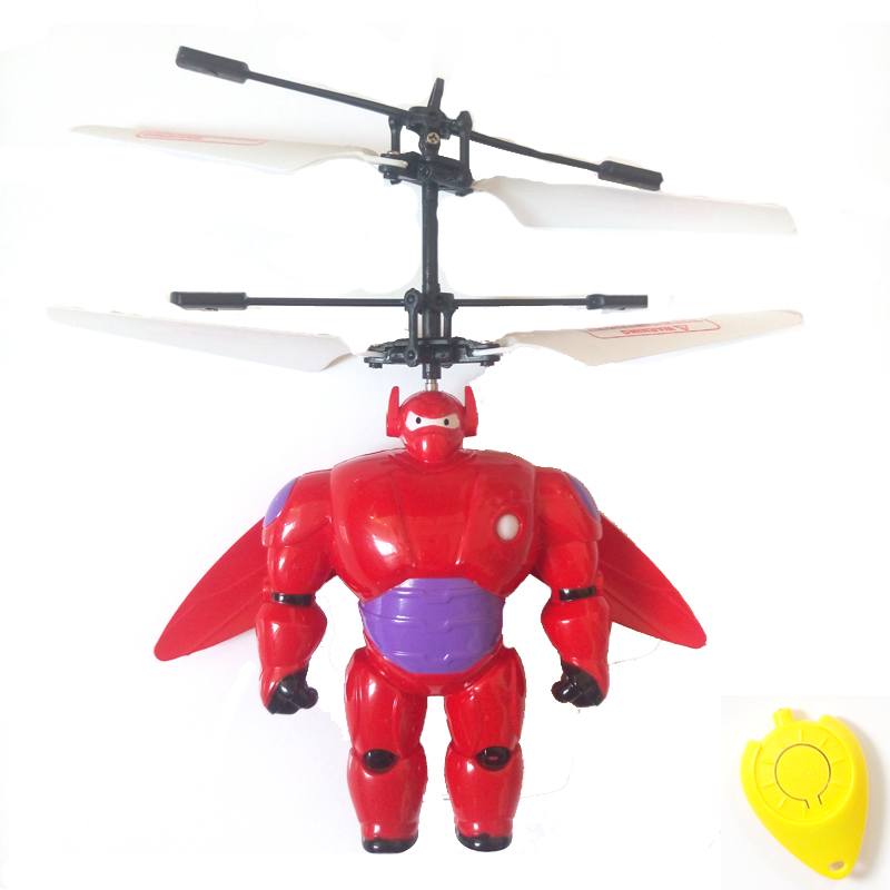 rc helicopter toys aircraft red kid toys flying saucer induction