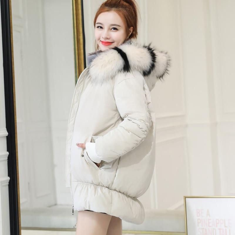 Hiver Bas Coton Vers white Long Femmes Ky308 En Black red Le Vêtements Taille Vestes Nouvelle 2018 À De Grande Lâche zwq6pxEA