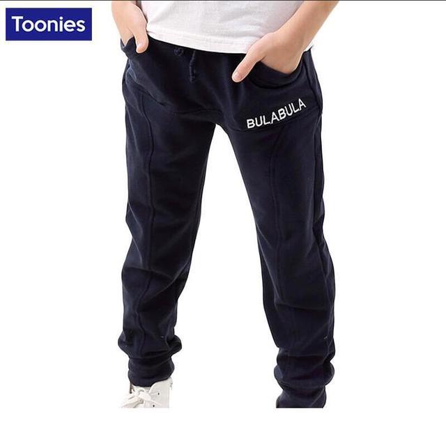 Children's Wear Trousers Boys Elastic Pants Infant Fashion Kids Sports Trousers Children Clothing 2017 Spring Autumn Calca Pants
