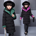 Fashion Girl's Down Jackets Winter Russia Kids Parka Coats Thick Duck Warm Jacket For Girls Children Outerwears SYHB122902