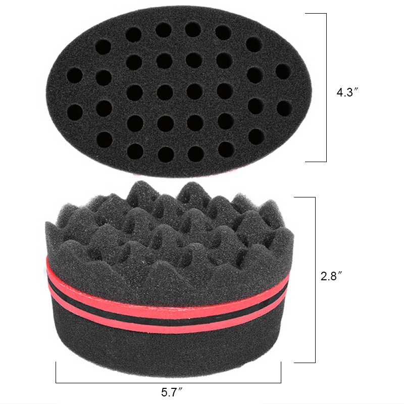 Men Soft Foam Hair Tool Hair Rollers Cling Sponge Hair Curler DIY Fashion Wavy Hair