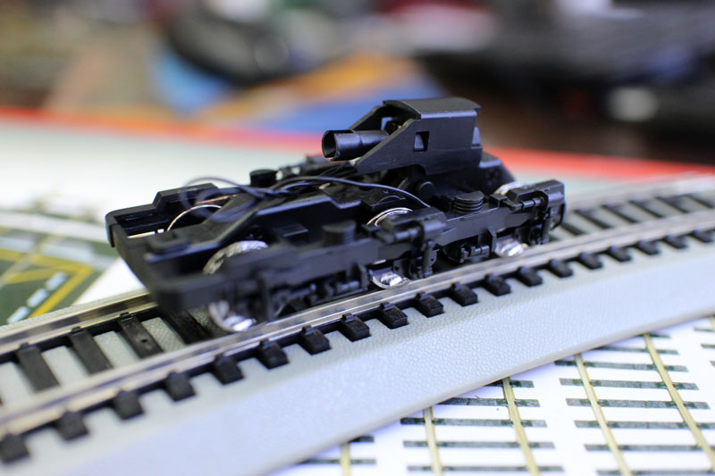 Train ho 1:87 scale model train Electric train parts Chassis Bogie