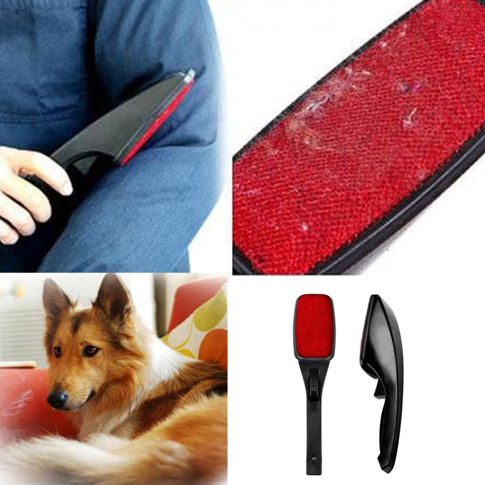 Hot Sale Static Brush Clothes Magic Lint Dust Brush Pet Hair Remover Clothing Cloth Dry Cleaning with Rotatable Brush Wholesale