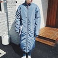 Men's X-long Raglan Sleeve Cotton-padded Parka Coat Fashion Autumn Winter Warm Outwear Coats Brand 2016 New