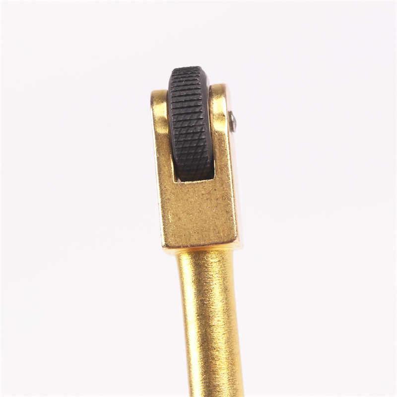 חדש סגנון מיני זהב צבע חיצוני מיני פליז גלגלת פלינט אש מקל מצת פראי מצת קמפינג כלים