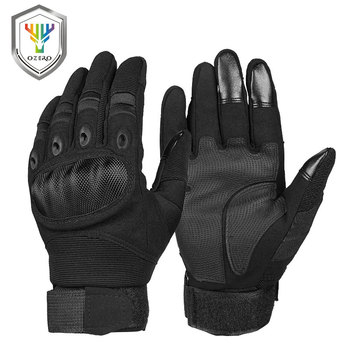 OZERO Motorcycle Gloves Super Fiber Reinforced Leather Motocross Motorbike Biker Racing Car Riding Moto Gloves Men 9024 1